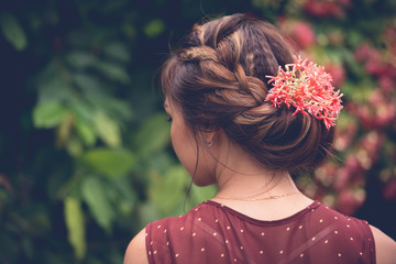 Charming hairstyle