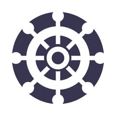 boat timon isolated icon vector illustration design