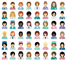 Female medical avatars