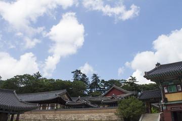 Beautiful Korean temple