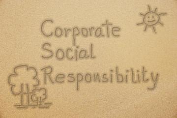 CSR handwriting  on fine sand