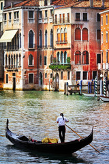 Romantic holidays in beautiful Venice. Italy