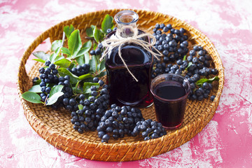 chokeberry liqueur