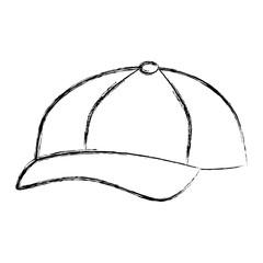 baseball cap isolated icon vector illustration design