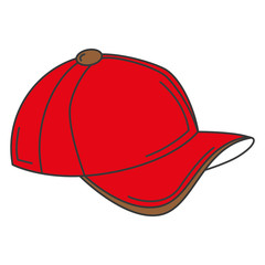baseball cap isolated icon vector illustration design