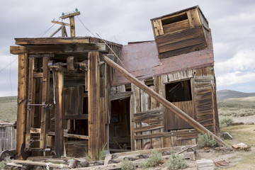Saw mill and carpenter shop, Bodie, CA