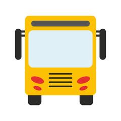 bus public transport icon image vector illustration design