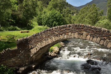Pont d′Ordino in Andorra - Ordino