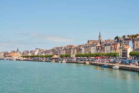 Deauville harbour, Normandy France