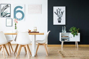Scandi style interior design