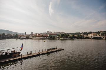 prague town czech republic bridge