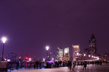 Night View from Bund, Shanghai