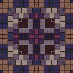 Abstrakt Mosaik Stein dekorativ ornament