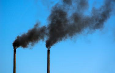 pipe black smoke emission