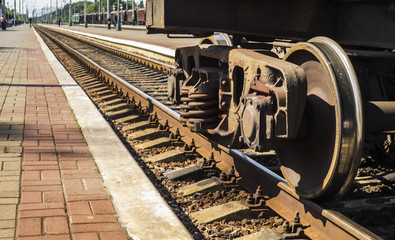 Wheel train While parked