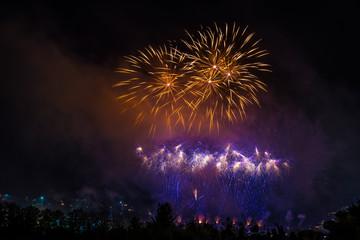 Fireworks in Calgary