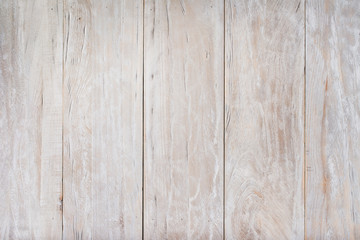 White aged wooden planks wall textured background