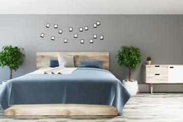 Gray bedroom, photo gallery
