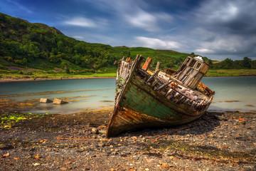 Ardvasar old boat