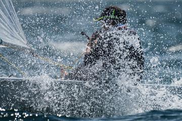 Splash sailing