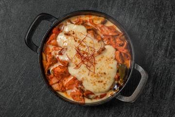 韓国料理タッカルビ チーズタッカルビ Dak galbi(Korean chicken grilled dish)