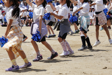 学年全員でダンス