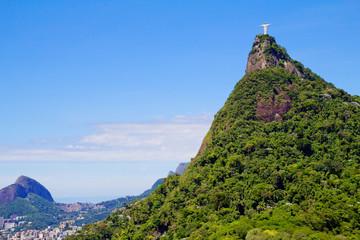 Бразилия. Рио де Жанейро. Статуя Исуса Христа .