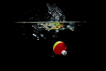 Colorful Fishing Bobber Makes a Splash