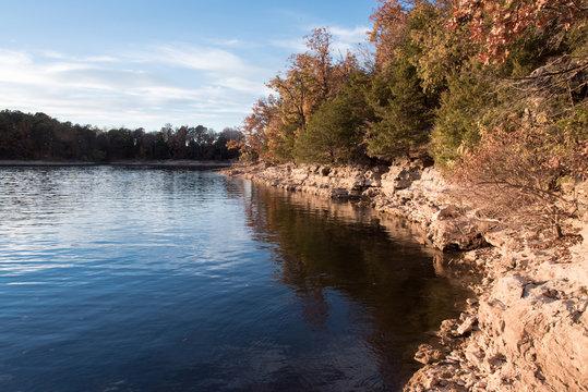 Sunny day at Fellows Lake, Springfield, MO