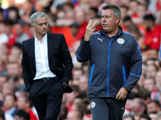 Premier League - Manchester United vs Leicester City