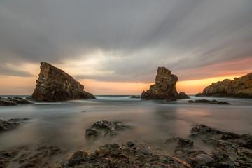 Rock formation near Sinemoretz, Bulgaria
