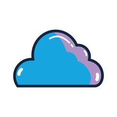 nice cloud weather in the sky design