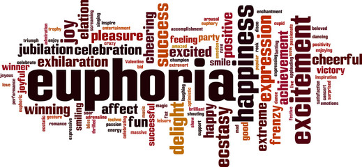 Euphoria word cloud