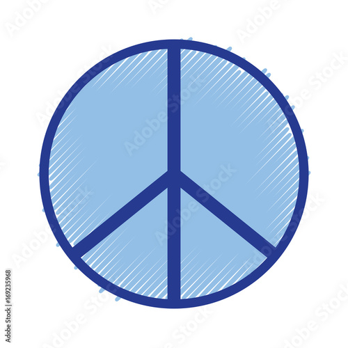 Hippie Peace And Love Symbol Design Stock Image And Royalty Free