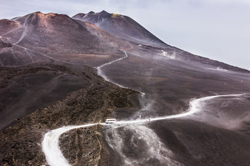 Vulcano Etna - Sicilia - Italia Fototapete