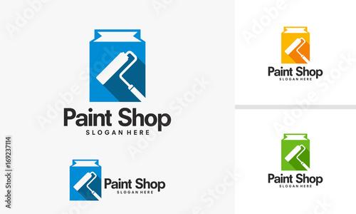 Paint Shop Logo Designs Decoration Shop Logo Template Vector New Designs For Decoration