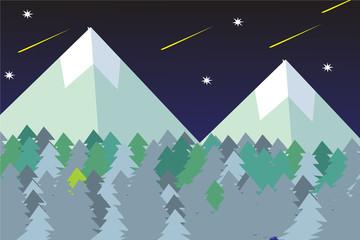 forest background simple design