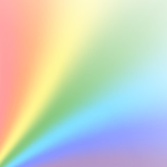 Rainbow gradient background. Color rainbow abstract mesh. Colorful bright soft design. Vibrant smooth blur. Light effect. Vector illustration