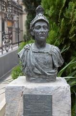 Modern bust of Hannibal Barca in Cartagena