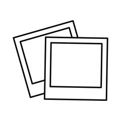 pictures icon over white background vector illustration