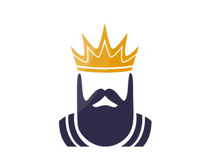 Modern Charismatic Royal King Logo
