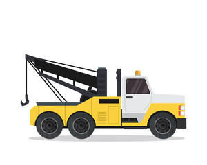 Modern Tow Truck Illustration Logo