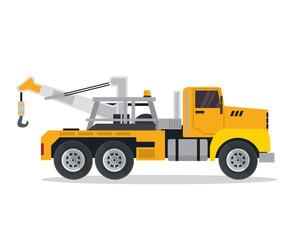 Modern Tow Truck Illustration Logo