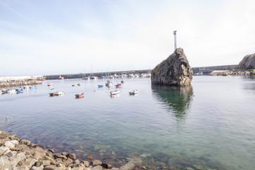 Pequeño puerto pesquero del norte