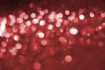 Red bokeh texture.Glitter dimond background.Christmas or New Year background