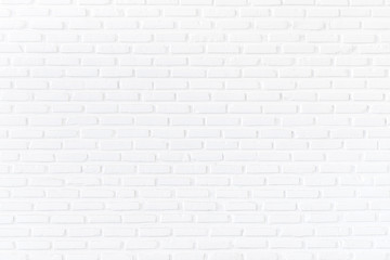 White brick wall background and textured