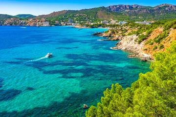 Spain Majorca Mediterranean Sea Island Coast Landscape