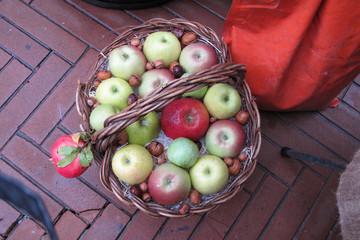 esposizione di mele