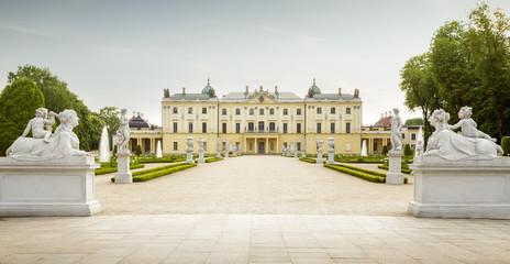 Branicki Palace in Bialystok, Poland Fototapete