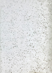 Background texture of transparent white glass